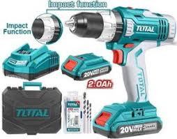 TALADRO  INDUSTRIAL 20 V Total LITHIUM CORDLESS
